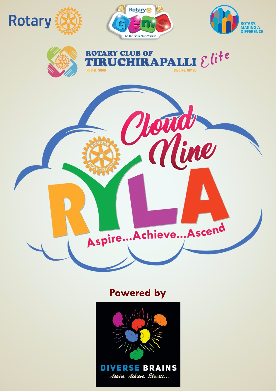 Rotary Club of Tiruchirapalli Elite - RYLA on 01 July 2017 - Powered by Diverse Brains