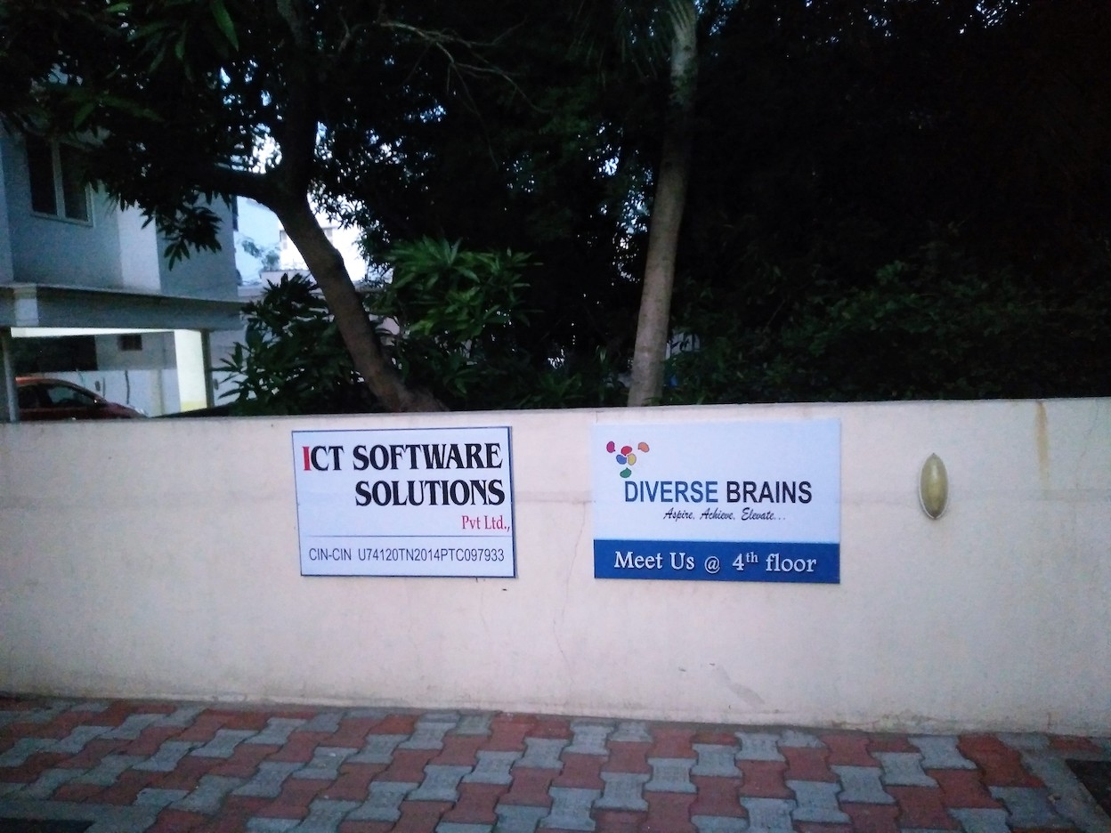Diverse Brains and ICT Software Solutions - Parking space