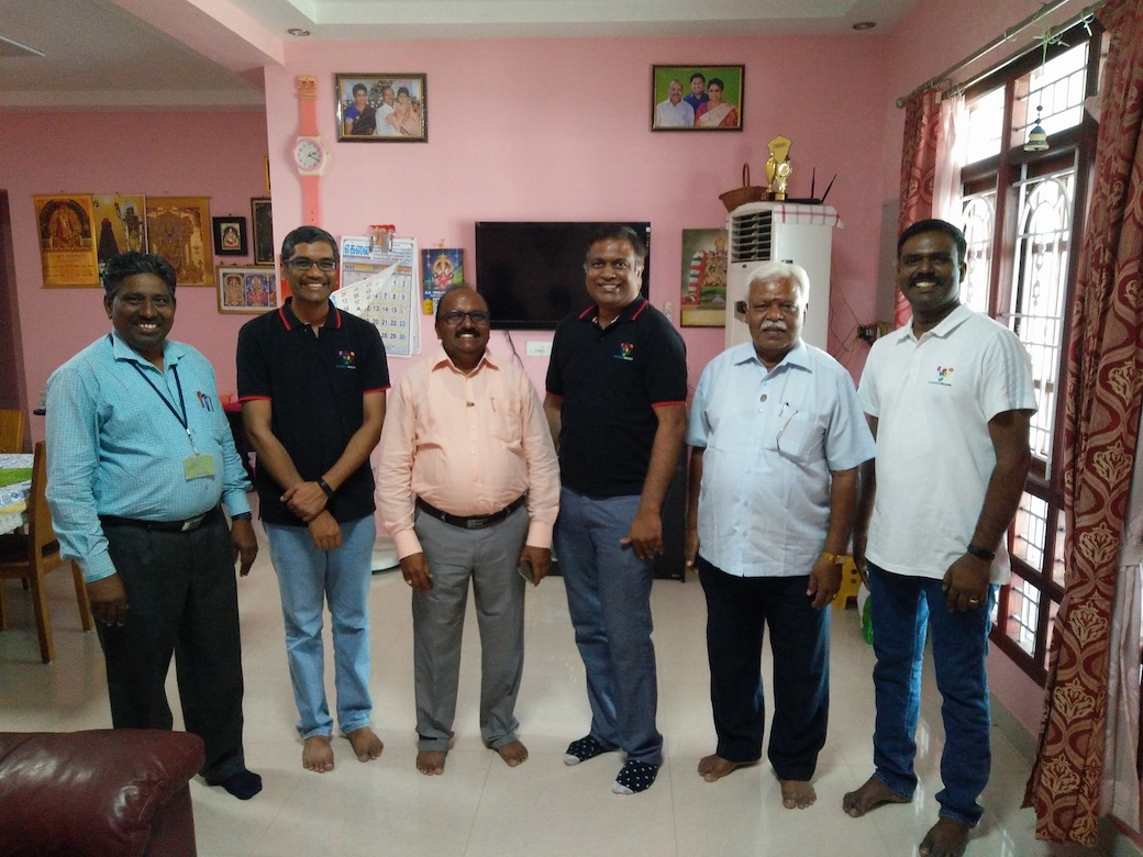 Diverse Brains meet with Excel Founder & Hon. Chairman Rtn. Prof. Dr. A. K. Natesan