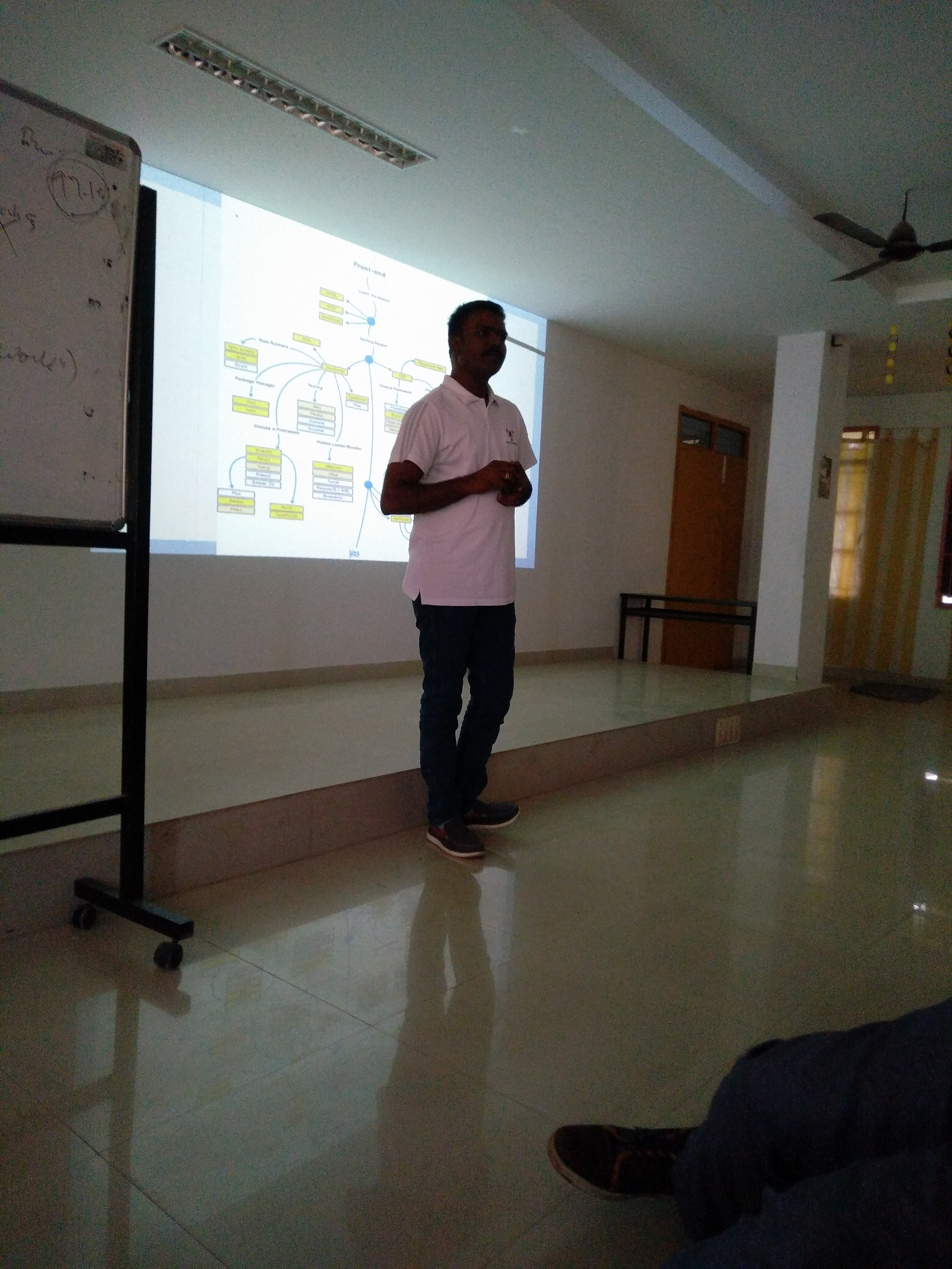 Elevate Excel 2018, Train the Tutors, session by Godwin Stanislaus about Full stack programming