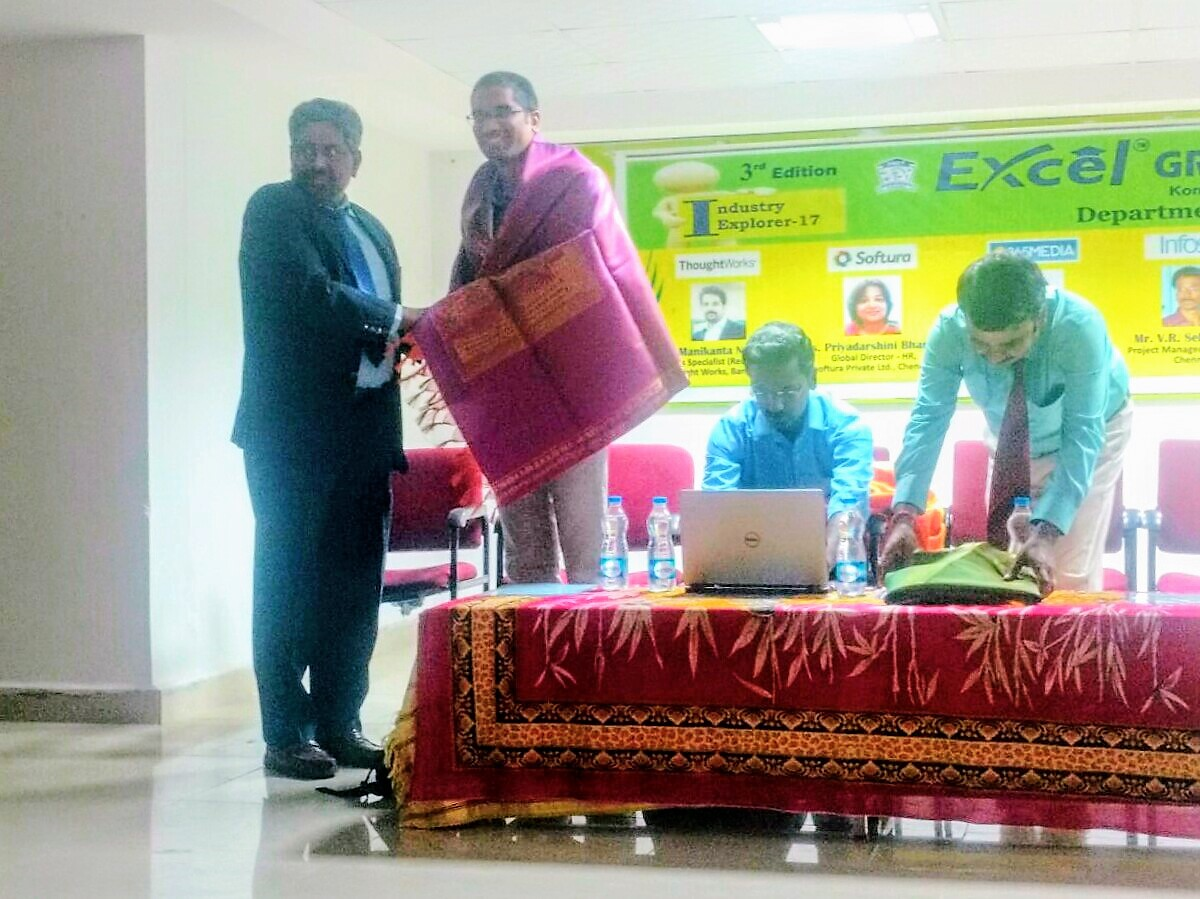 Explorer 2017 - Excel Group Institutions - 18 February 2017 - Ananth Sivagnanam