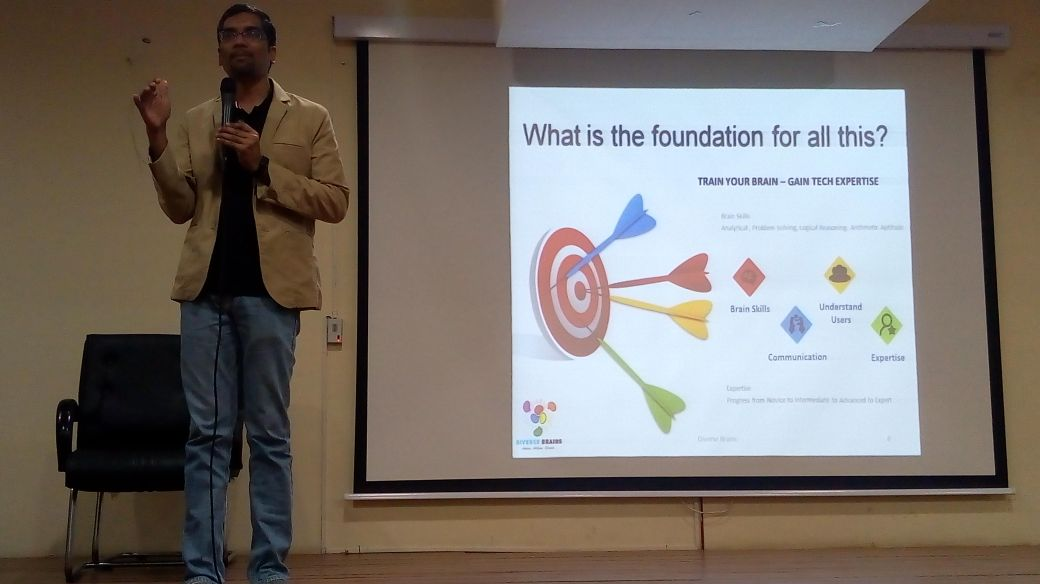 Ananth Sivagnanam, CEO, Diverse Brains talking about foundational requirements