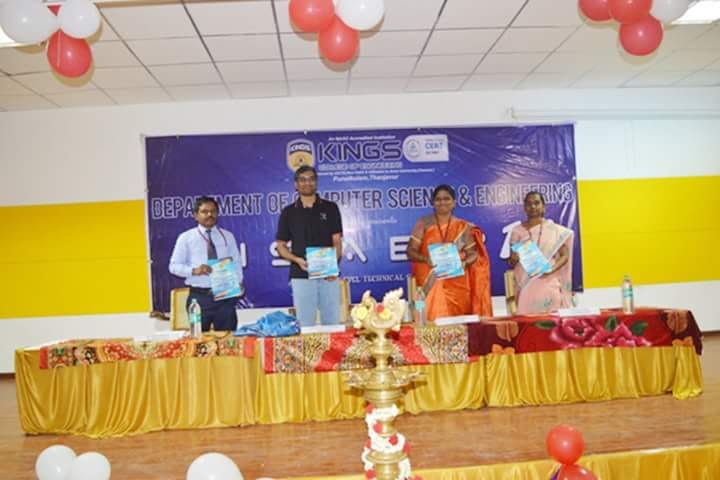 Ananth Sivagnanam, Director, Diverse Brains Life Solutions, along with CSE department team in CISABZ 2018 memento launch