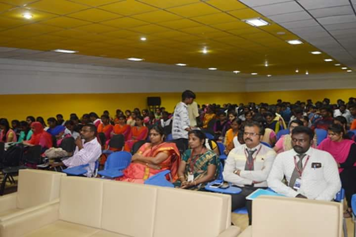 Attendees of the CISABZ'18, Technical symposium, conducted by CSE department, Kings College of Engineering, Tanjore