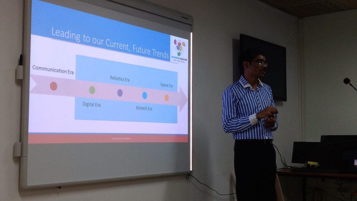 Aspire Millenials 02 - Lead into Future on 11 August 2016 - Ananth Sivagnanam